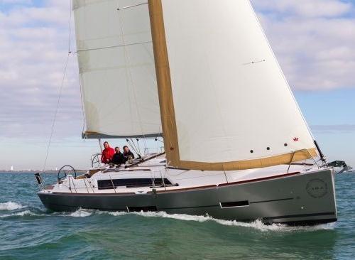 La regolazione delle vele con vento medio